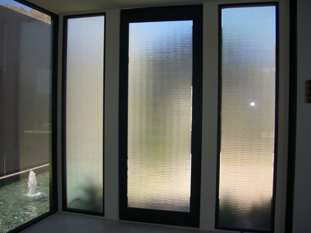 Frosted glass doors for modern day homes and offices for Exterior kitchen doors with glass